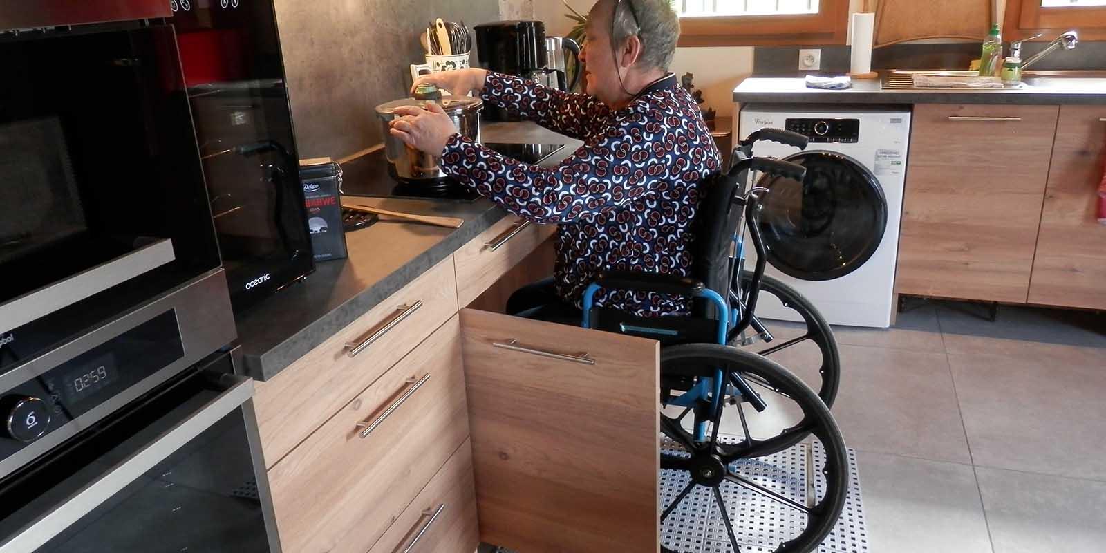 Une cuisine équipée et accessible pour tous