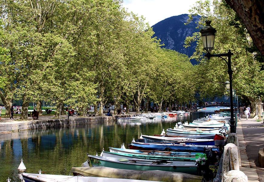La ville d'Annecy offre un magnifique patrimoine