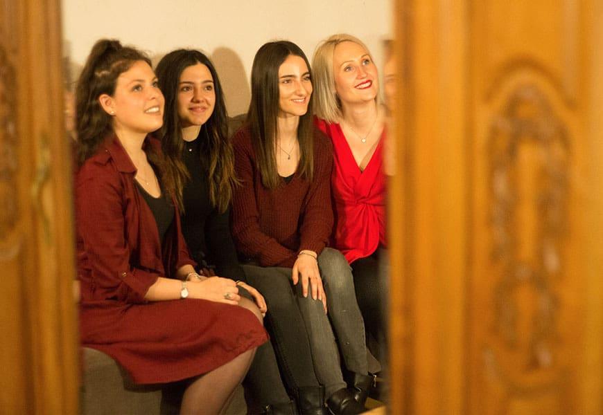 Les quatres filles ont été une source d'inspiration pour la création du gite Chapô Julô
