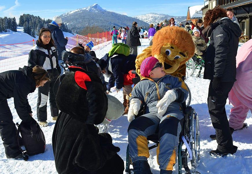 Des activités pour tous même dans la neige