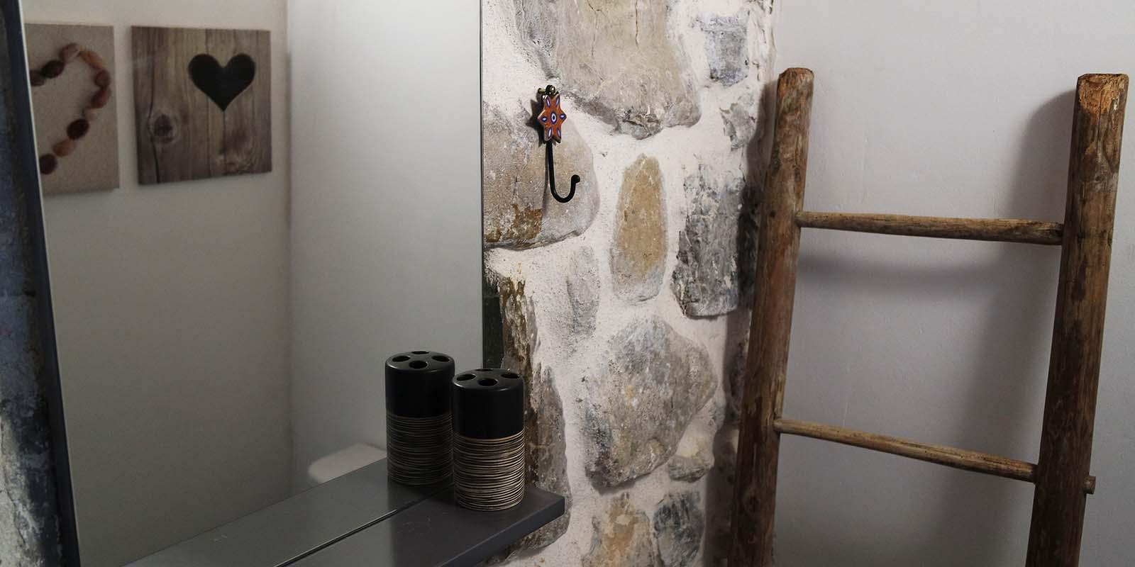 Salle de bain style champêtre