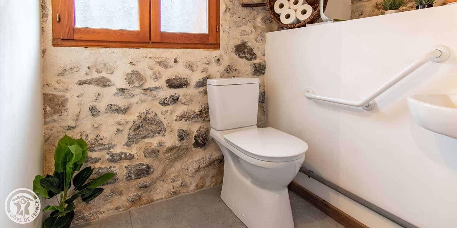 Les toilettes sont accessibles par tous